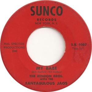 Sunco 1007 - Fantabulous Jags - My Babe