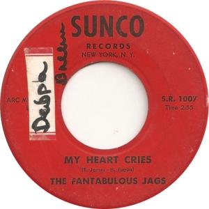 Sunco 1007 - Fantabulous Jags - My Heart Cries