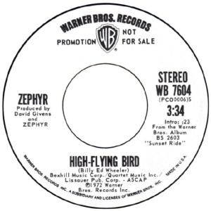 WARNER BROS 1972 06 - ZEPHYR DJ A