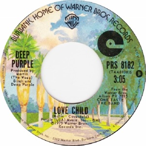 WARNER BROS 1976 8182 - DEEP PURPLE BOLIN - B