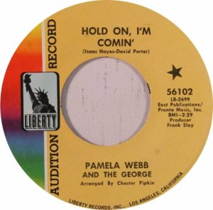 WEBB PAMELA AND GEORGE - 60'S 45 A