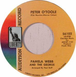WEBB PAMELA AND GEORGE - 60'S 45 B