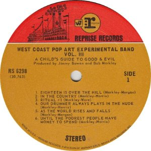 WEST COAST POP - REPRISE 6298 - RA