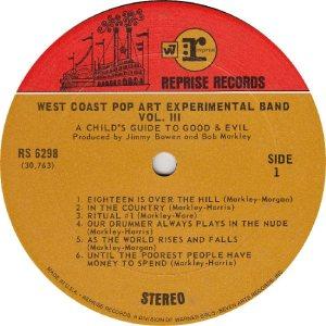 WEST COAST POP - REPRISE 6298 - RA