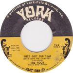 York 402 - Poor - She's Got the Time 1967 R