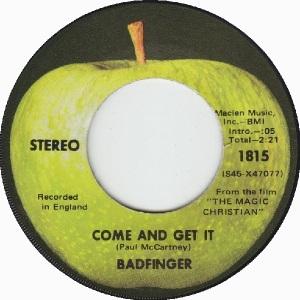 Apple 1815 - Badfinger - 01-70 - A