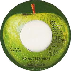 Apple 1822 - Badfinger - 10-70 - A