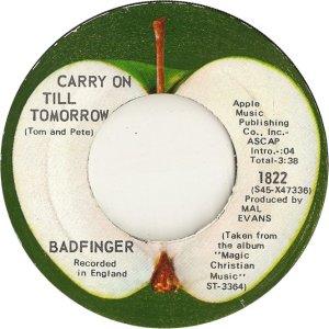 Apple 1822 - Badfinger - 10-70 - B