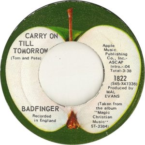 Apple 1822 - Badfinger - 10-70 - B