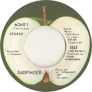 Apple 1841 - Badfinger - 11-71 - B