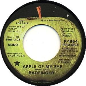 Apple 1864 - Badfinger - 12-73 - DJ A
