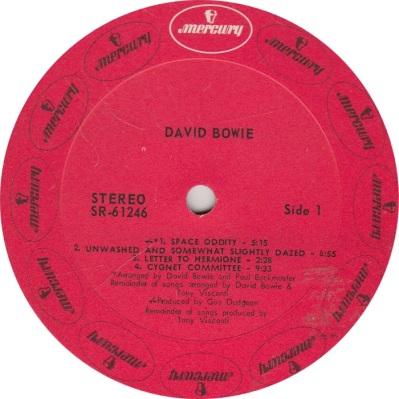 BOWIE DAVID - MERCURY 61246 RA
