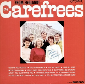 Carefrees - London - We Love You Beatles