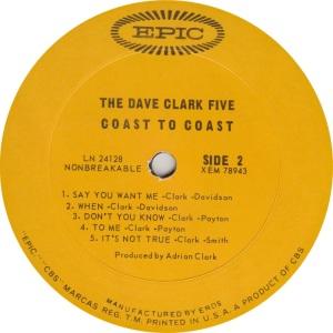 CLARK FIVE - COAST B