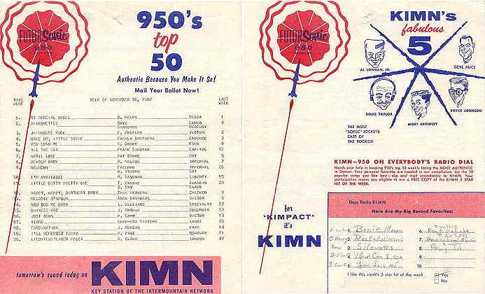 KIMN 1957
