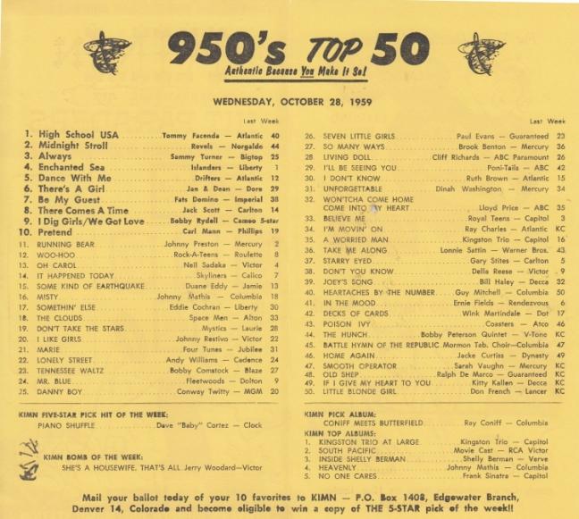 KIMN 1959 - 10-28 - B