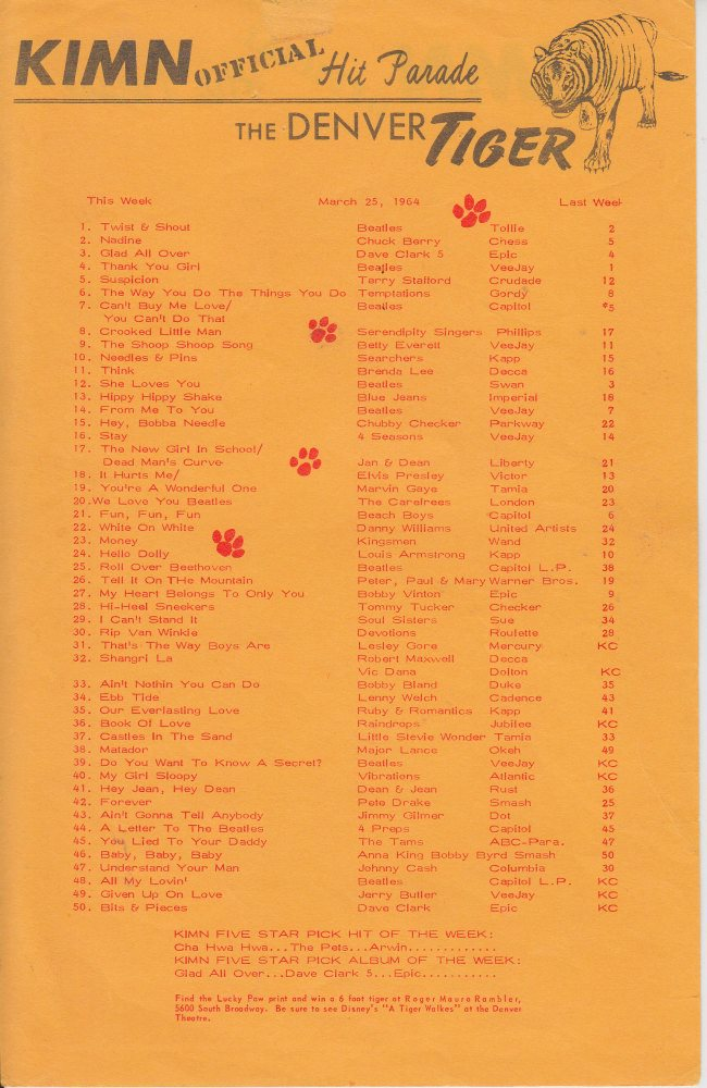 KIMN 1964 - 03-25 B