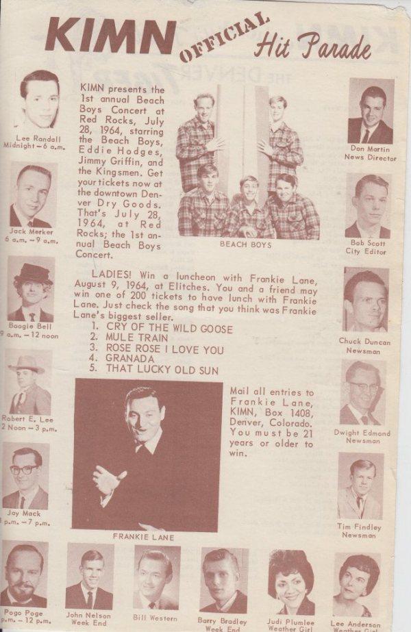 KIMN 1964 - 07-22-64 - F