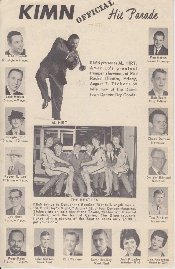 KIMN 1964 - 07-29-64 - F