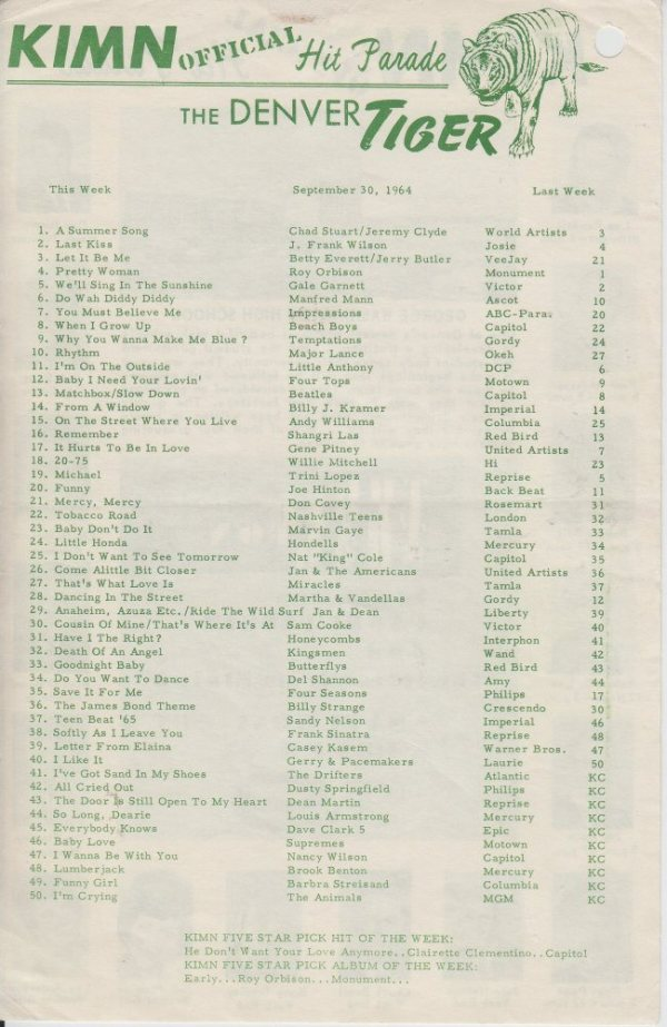 KIMN 1964 - 09-30-64 - B
