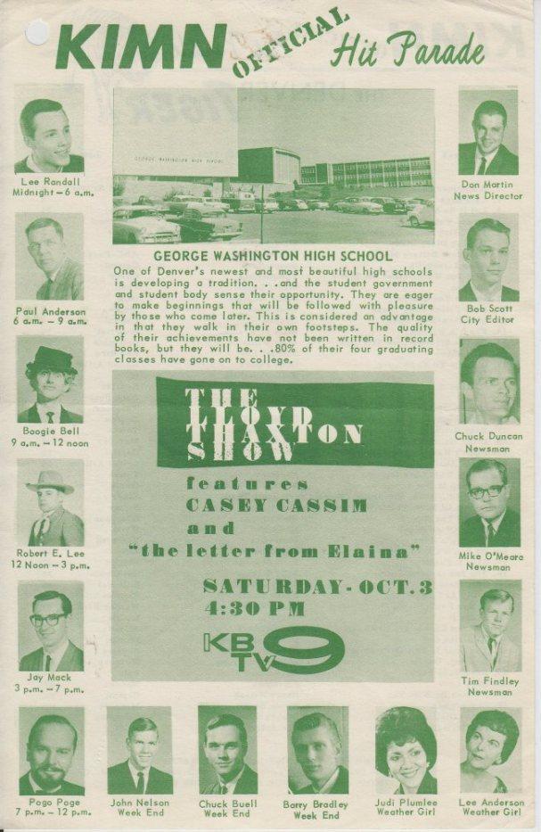 KIMN 1964 - 09-30-64 - F