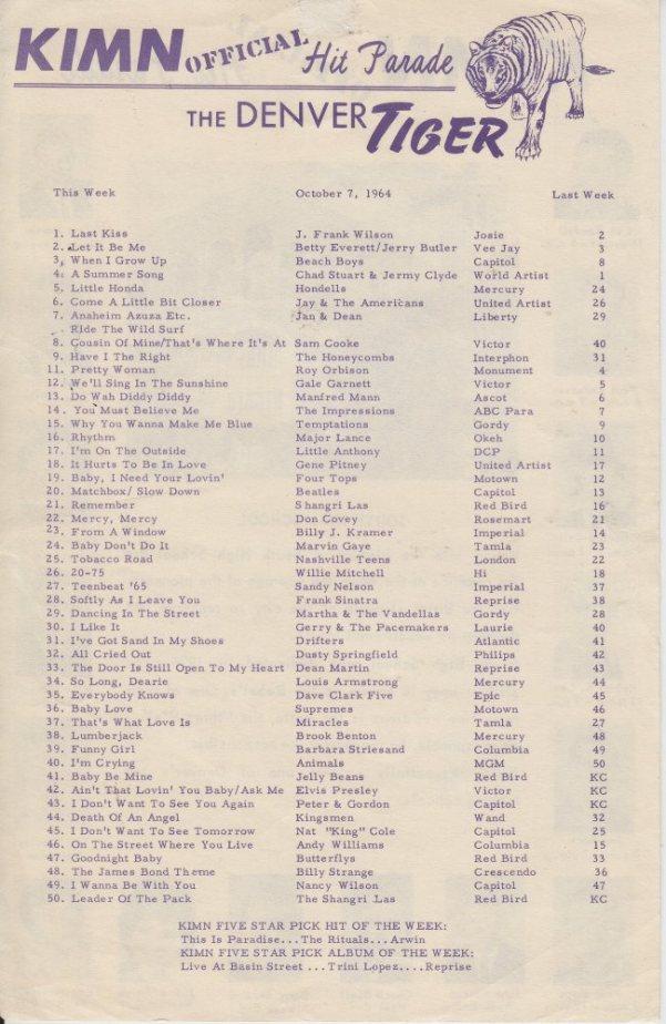 KIMN 1964 - 10-07-64 - B