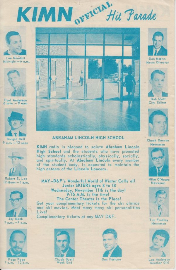 KIMN 1964 - 11-04-64 - F