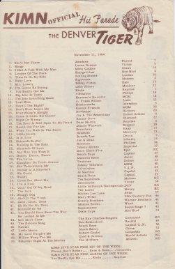 KIMN 1964 - 11-11-64 - B