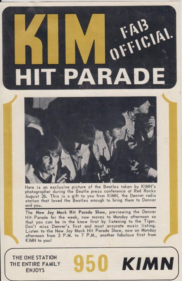 KIMN 1964 - 11-16-64 - F