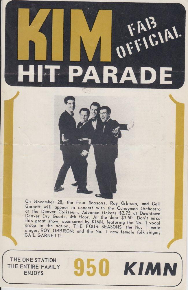 KIMN 1964 - 11-23-64 - F