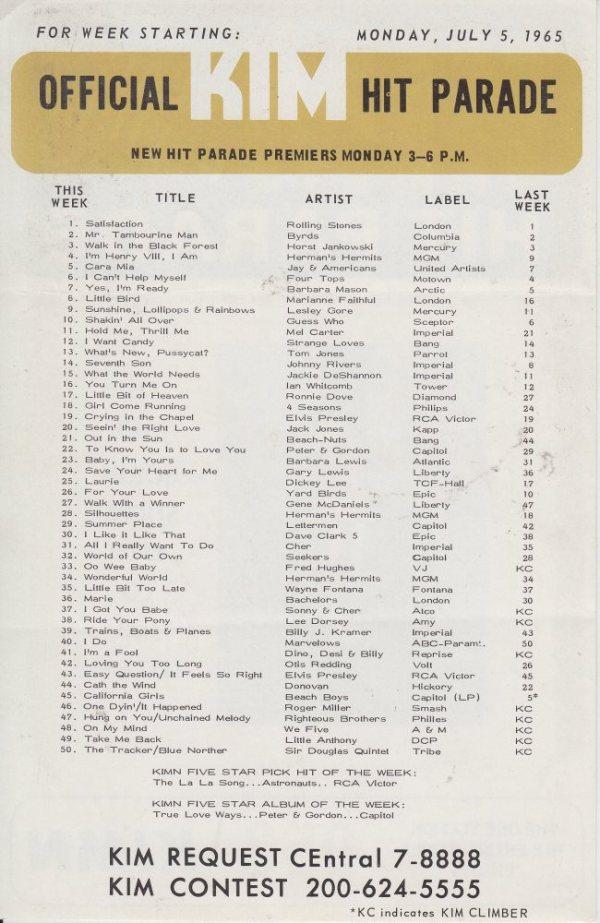 KIMN 1965 - 07-05-65 - B