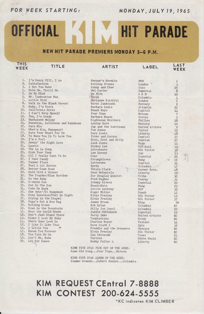 KIMN 1965 - 07-19-65 - B