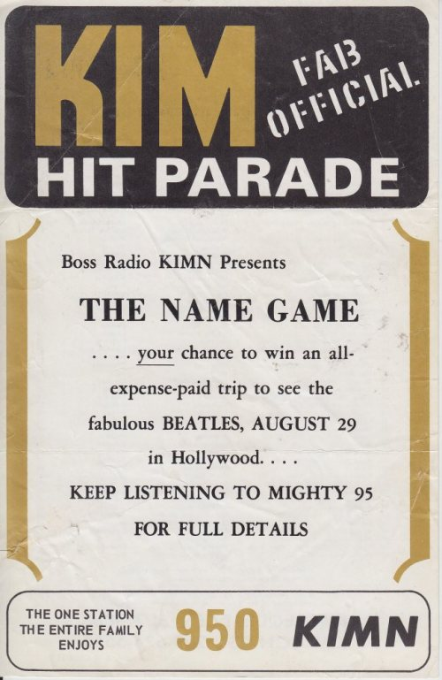 KIMN 1965 - 08-16-65 - F