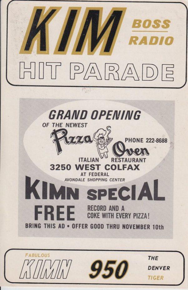 KIMN 1965 - 11-01-65 - F