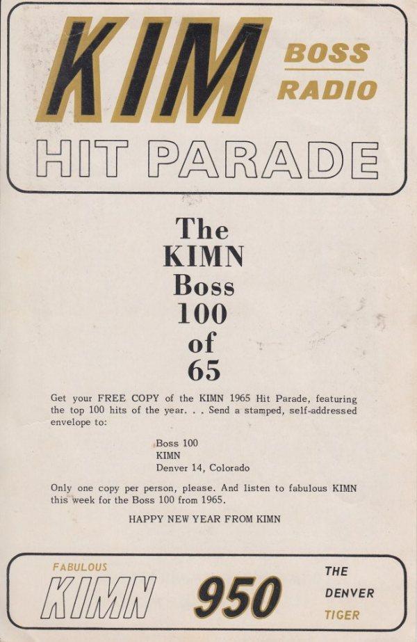 KIMN 1965 - 12-27-65 - F