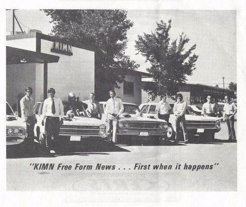 KIMN Boss Jocks - 1971