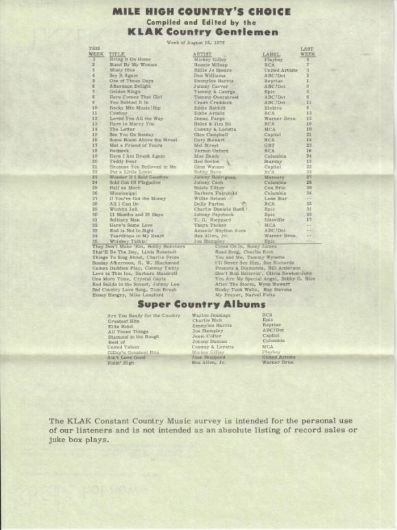 KLAK - 1976 - 08-16 - F