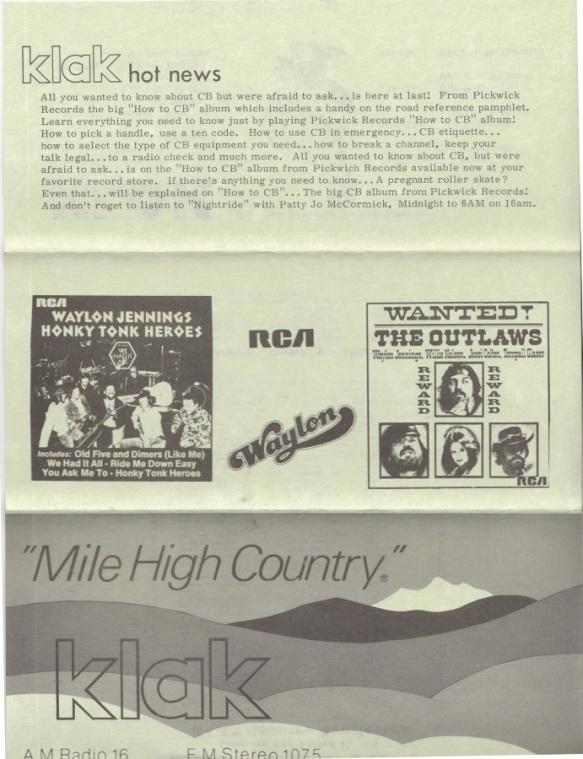 KLAK - 1976 - 09-13 B