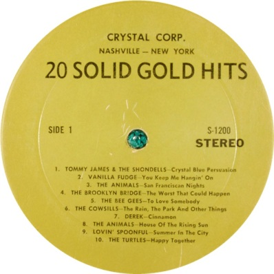 VARIOUS - CRYSTAL C