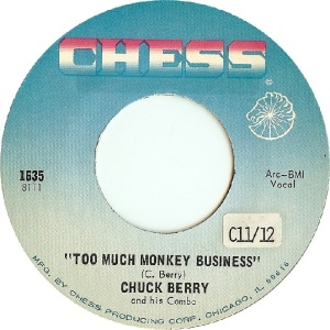1956-10 - Berry - Too Much Monkey