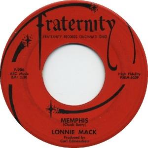 1963 - Mack, Lonnie - Memphis