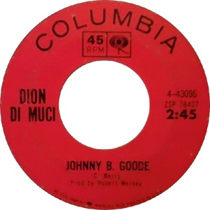 1964 - Dion - Johnny B Goode