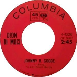 1964 - Dion - Johnny B Goode