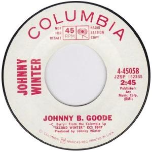 1969 - Winter - Johnny B Goode