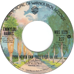 1977 - Harris, EL - You Never can Tell