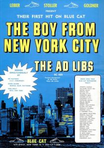 Ad Libs - 01-65 - The Boy From New York City