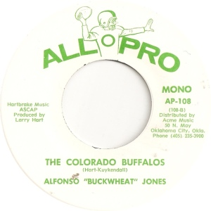 All Pro 108 M - Jones, Alphonso - The Colorado Buffalos
