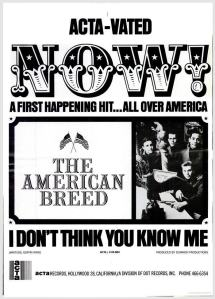 American Breed - 03-67 - I Don't Think You Know Me