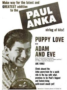 Anka, Paul - 02-60 - Puppy Love