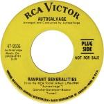 Autosalvage - 1968 BB - Rampant Generalities R